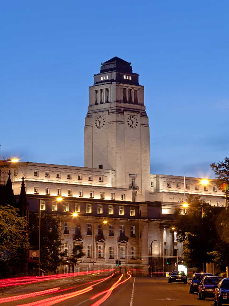 University Of Leeds Leeds West Yorkshire Venue Details