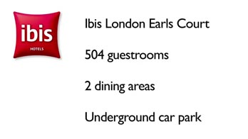 ILEC Conference Centre at Ibis London Earls Court
