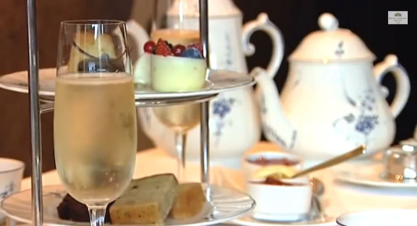 Food & Drink Video - Royal Garden Hotel London (2012) - video thumbnail