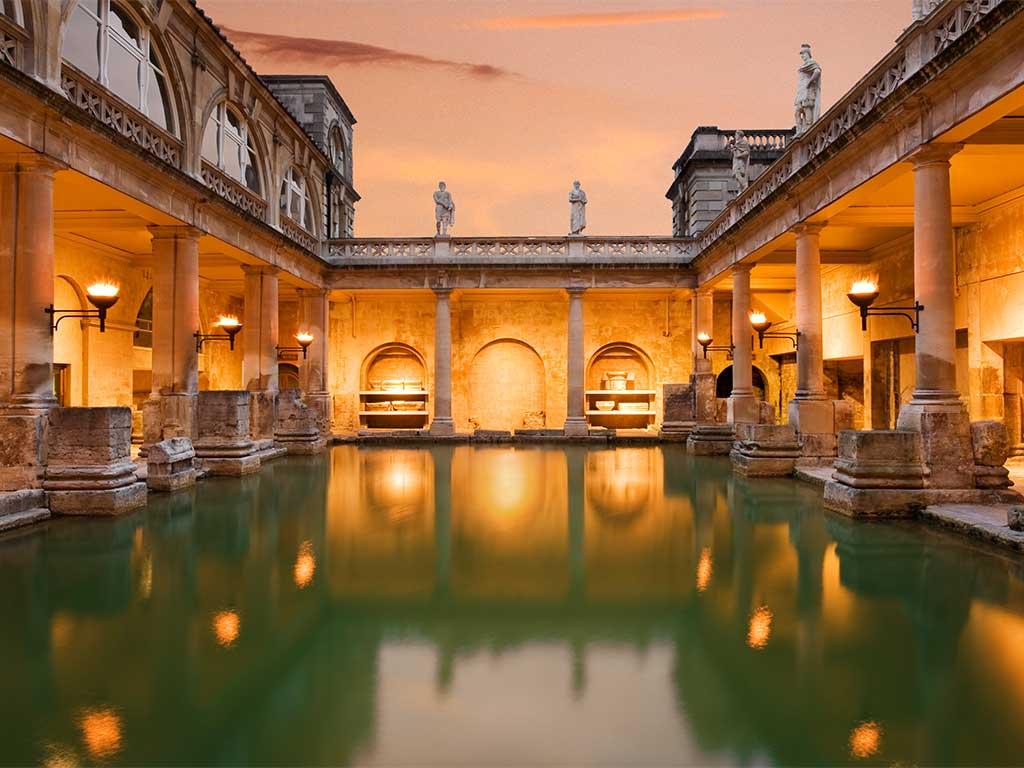 Roman bathrooms