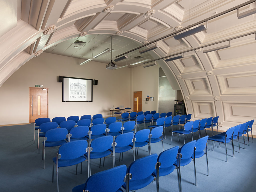 Harvey Room  Theatre Style   BMA House