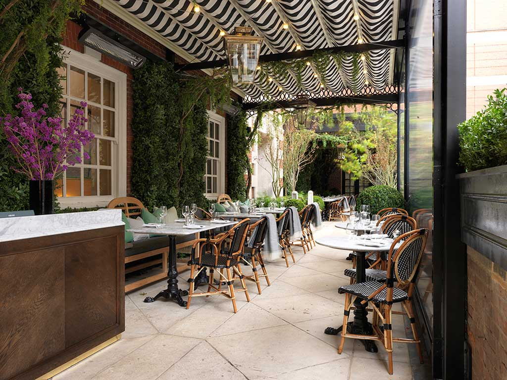 The bloomsbury hotel london venue details for Dalloway terrace hotel