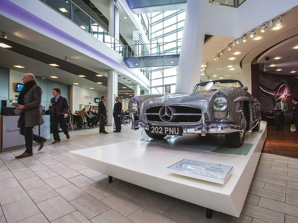 Mercedes benz world weybridge surrey venue details for Mercedes benz worldwide