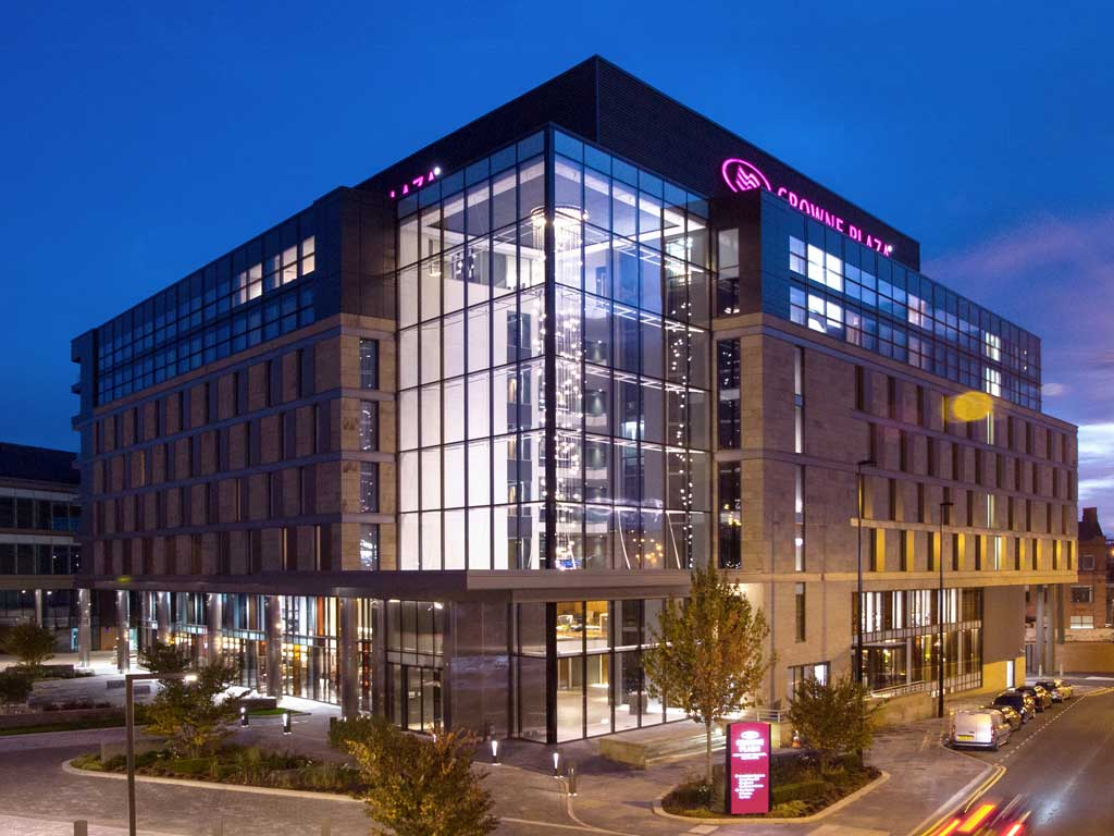 Crowne Plaza Newcastle Stephenson Quarter Newcastle Upon Tyne Tyne And Wear 187 Venue Details