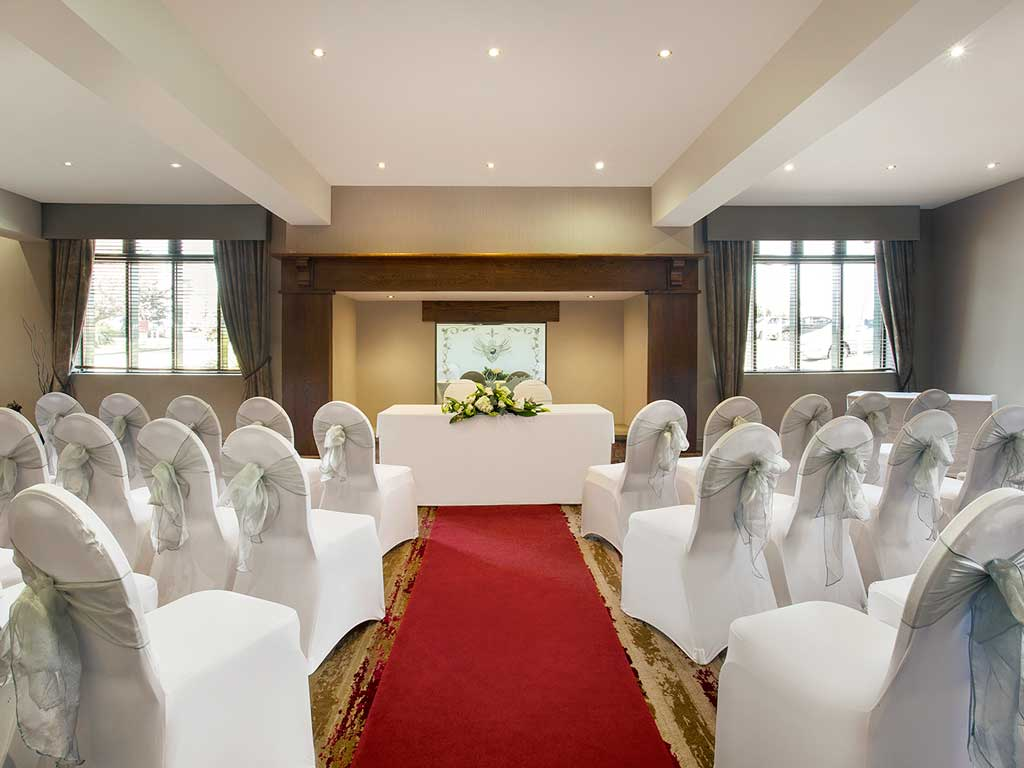 Midlands hotel wedding