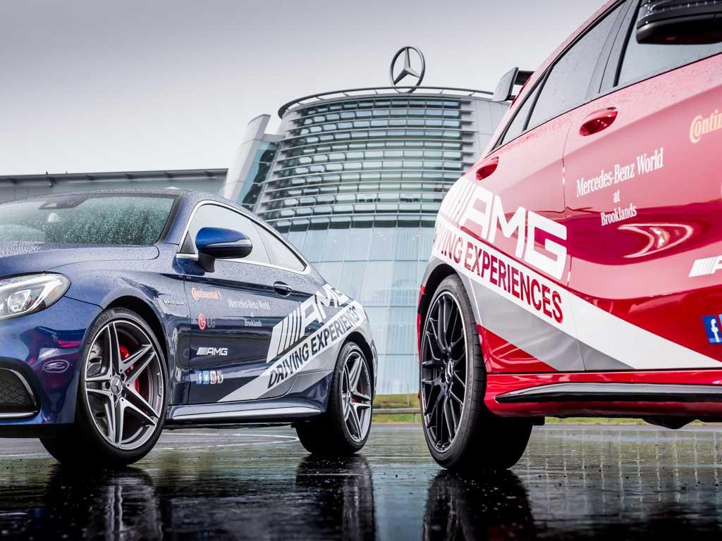 Mercedes benz world weybridge surrey venue details for Mercedes benz driving experience