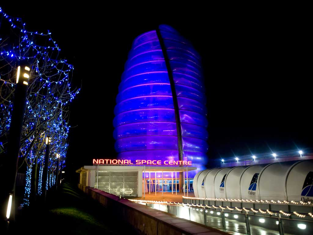 National Space Centre Leicester Leicestershire 187 Venue