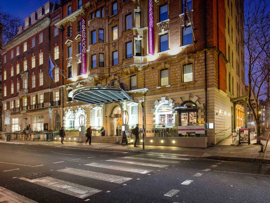 Ambassadors Bloomsbury London 187 Venue Details