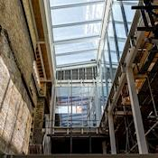 Brighton Dome building works on new Gallery space - Brighton Dome