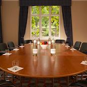 Malvern Suite - Boardroom meeting - The Abbey Hotel