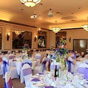 The Ballroom for a special event - The Hog's Back Hotel & Spa Farnham