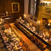 Dining in the Castle - Hever Castle