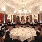 Ballroom in banqueting style - Amba Hotel Charing Cross
