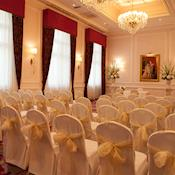 Regency ready for exchanging wedding vows - Amba Hotel Charing Cross