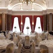 Ballroom in Wedding breakfast style. - Amba Hotel Charing Cross