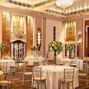 Ballroom Complex Ballroom Wedding Dinner - Sheraton Grand London Park Lane Hotel