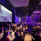 Hall 1 Banquet for up to 1,000 dinner guests - ICC Belfast