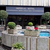Imperial facade and entrance - Imperial Hotel