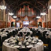 Whitworth Hall dinner - The University of Manchester Conferences & Venues
