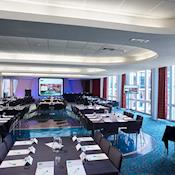 Barnes Wallis Room cabaret style - The University of Manchester Conferences & Venues
