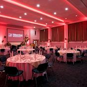 Main Hall Cabaret - Woburn House Conference Centre