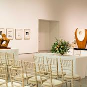 Wedding Ceremony in the Gallery - The Hepworth Wakefield