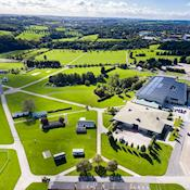 YEC, showground and viaduct - Yorkshire Event Centre