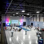 Severnside Hall One from Gallery Seating - Active Conference & Event Centre