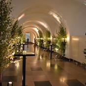 Undercroft reception - The Banqueting House