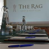 Meeting in the Drawing Room - The Rag - Army & Navy Club