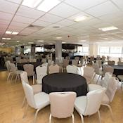 The Millennium Suite - dinner layout with dance floor - Charlton Athletic Football Club