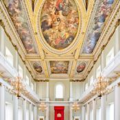 Rubens' ceiling in the Main Hall - The Banqueting House