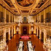 Dining in the Main Hall - The Banqueting House