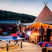 Tipi - Ideal for Drinks Receptions/BBQs/Meetings - Adventure Parc Snowdonia