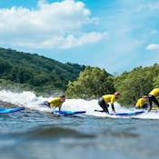 Team Building - why not learn to surf? - Adventure Parc Snowdonia