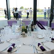 Banquet with view - Edgbaston Stadium
