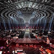 Multi Purpose Facility - 6000 banquet tables at concert - Oslofjord Convention Center