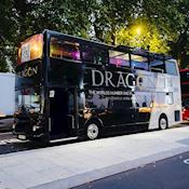 vip bus with full wrap - Champagne Tours London