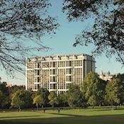 View of hotel from Kensington Gardens - Royal Garden Hotel