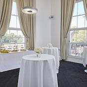 Poser Tables and Catering - ISH Venues - One Park Crescent