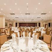 Longford Suite dinner set up - Thistle London Heathrow Terminal 5
