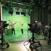Green Screen MediaCityUK - University of Salford