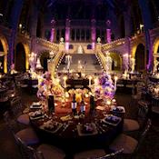Wedding reception in Hintze Hall - Natural History Museum