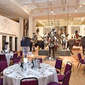 War Gallery set for Leeds Big Sleepover Dinner - NEW DOCK Hall and Royal Armouries Museum