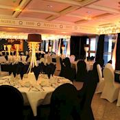 Wellington Suite set for a Hollywood Evening - NEW DOCK Hall and Royal Armouries Museum