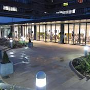 Conference Aston Hotel Courtyard - The Conference Aston Hotel
