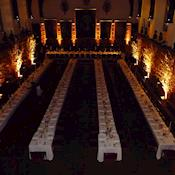 Dinner set on sprigs - The Honourable Society of the Middle Temple