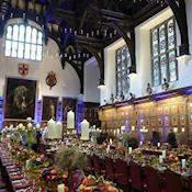 Hall dinner - The Honourable Society of the Middle Temple