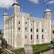 White Tower at the Tower of London - HM Tower of London