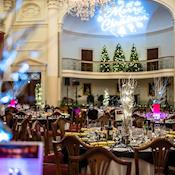 Christmas party in the Pump Room - Bath's Historic Venues